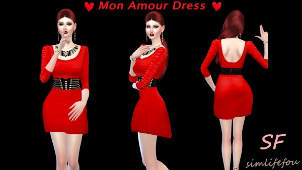 Simlife: Cute dress with a new mesh