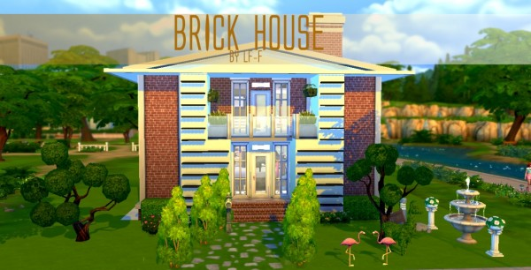 LuluFrosty Frog: FOLLOWER GIFT PART 2 BRICK HOUSE
