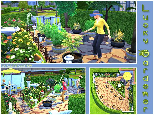 Akisima Sims Blog: Lucky Gardener by Akisima