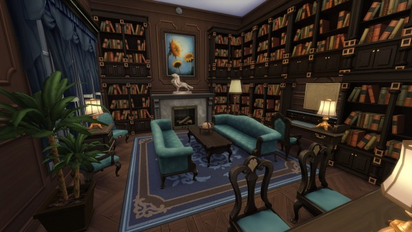 Mod The Sims Wrayth Manor By Edwardianed Sims 4 Downloads