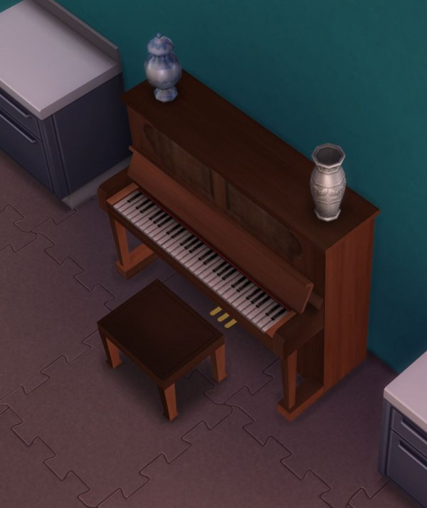 Mod The Sims Simple Upright Piano By Ugly Breath Sims 4