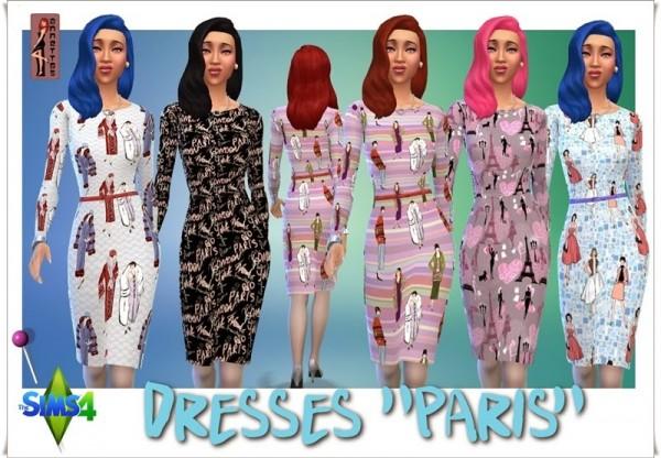 Annett`s Sims 4 Welt: Dresses Paris