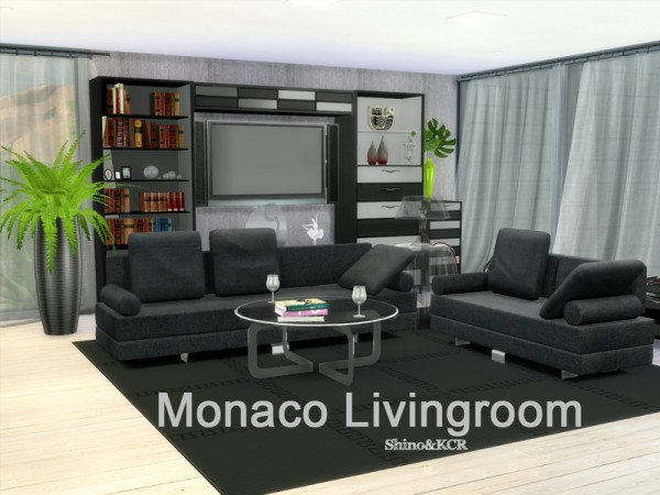 The sims resource monaco livingroom by shinokcr sims 4 for Modern living room sims 4