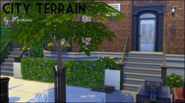 Martine Simblr: 3 terrain paints for urban environments