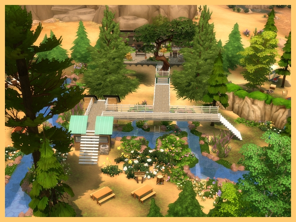 Akisima Sims Blog: Bad forest home