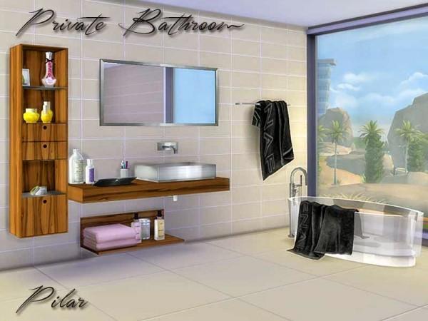 SimControl: Private Bathroom by Pilar
