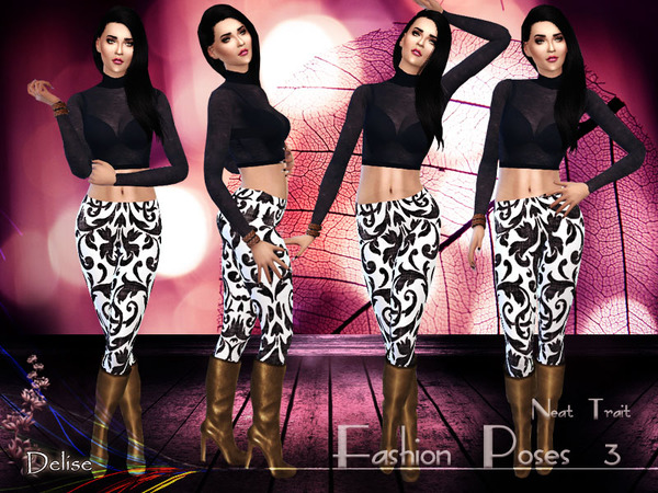 The Sims Resource: Fashion poses 3 by Delise