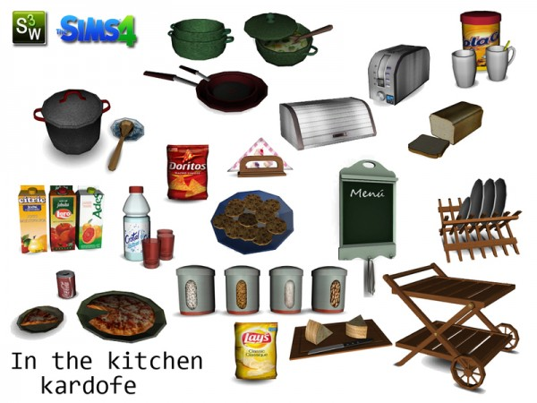 The Sims Resource: In the kitchen by Kardofe