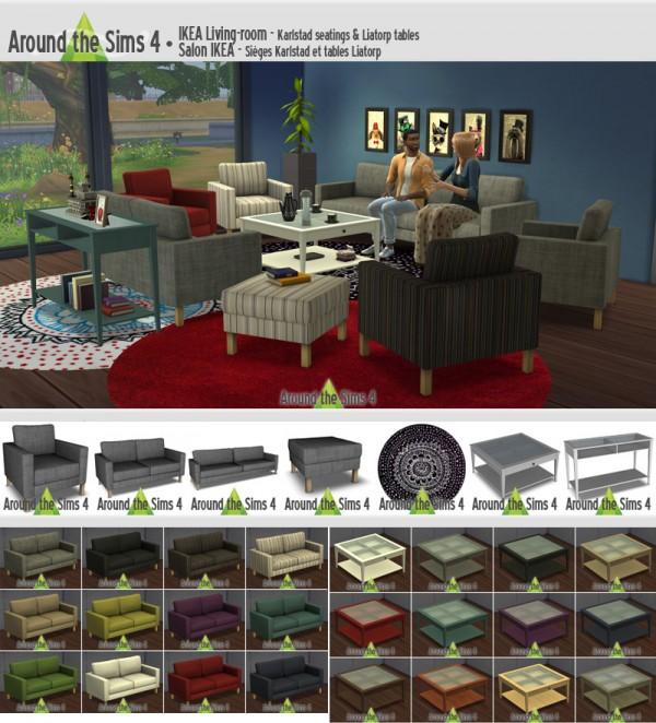 Around The Sims 4: Livingroom