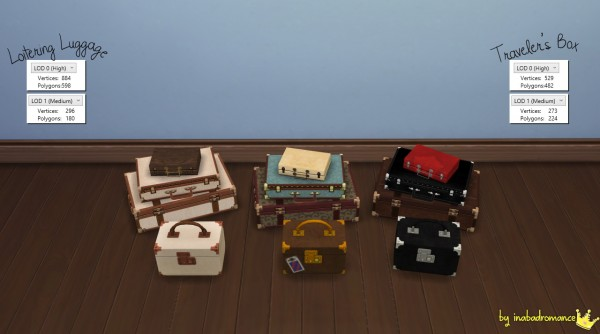 In a bad romance: Clutters converted from TS3 for TS4