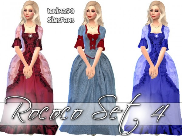 Sims Fans: Rococo  set 4 by Lenina 90