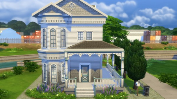 sims 4 home design 2. good house. interesting colonial country house
