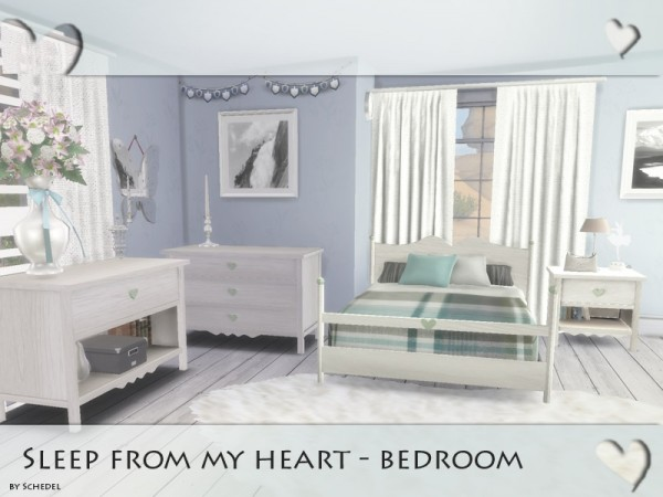 The Sims Resource Sleep From My Heart Bedroom By