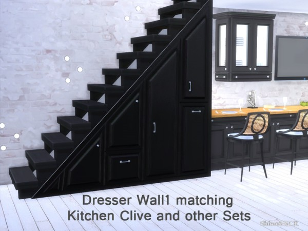 The Sims Resource Under The Stairs By Shinokcr Sims 4