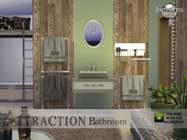 The Sims Resource: Attraction bathroom by Jom Sims