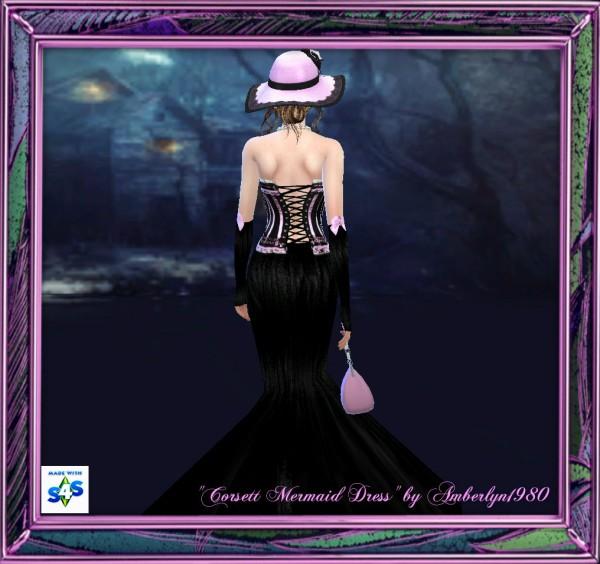 Amberlyn Designs Sims: Corsett Mermaid Set