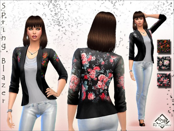The Sims Resource: Spring Blazer by Devirose