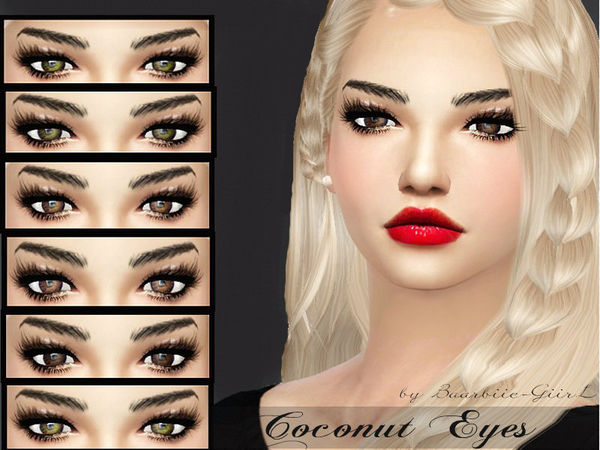 The Sims Resource: Coconut Eyes by Baarbiie GiirL