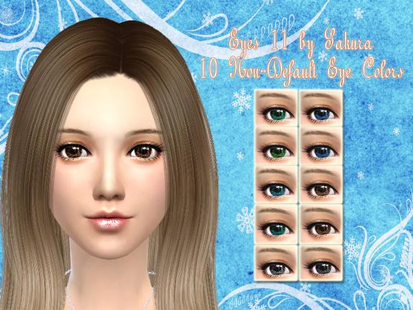 The Sims Resource: Eyes 11 by SakuraPhan