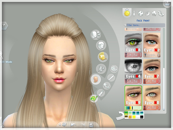 The Sims Resource: Natural Eyes by Tsminh 3