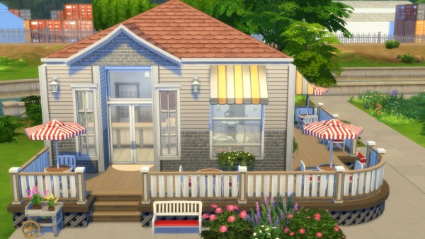 Totally Sims: The Tiny Cake Shop