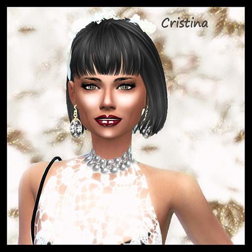 Les Sims 4 Passion: Cristina PETIT