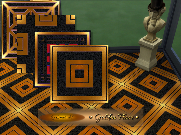 The Sims Resource: Golden Floor by emerald