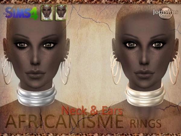 Jom Sims Creations: African earrings