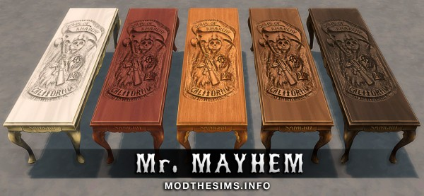 Mod The Sims: Carved Reaper Table by Mr. Mayhem