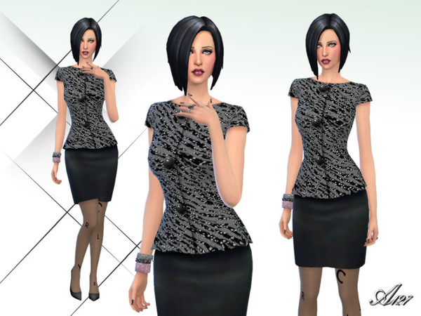 The Sims Resource: Black Night  by Altea127