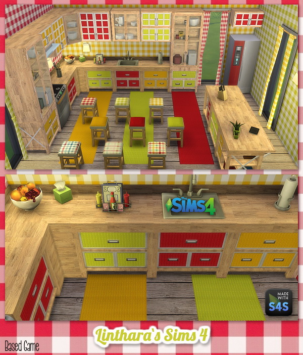 Lintharas Sims 4: Kitchen Amelie