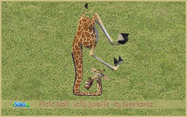 Ihelen Sims: Photo Wall Jolly giraffe by Simchanka