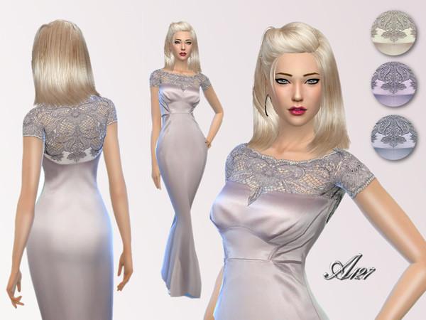 The Sims Resource: Aurora dress bu PureSIm