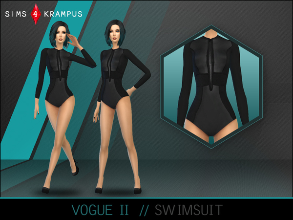 The Sims Resource: Vogue Swimsuit II by Altea127