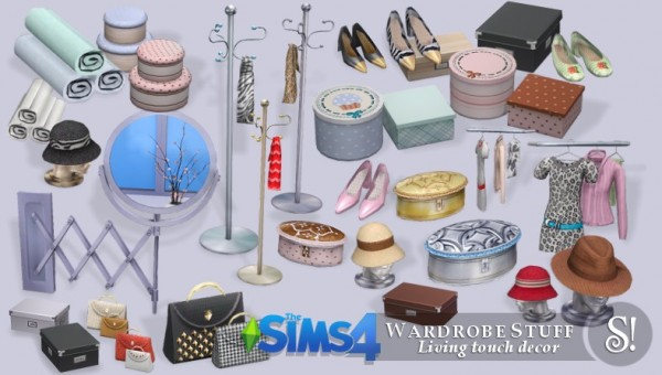 Simcredible Designs Wardrobe Stuff Sims 4 Downloads