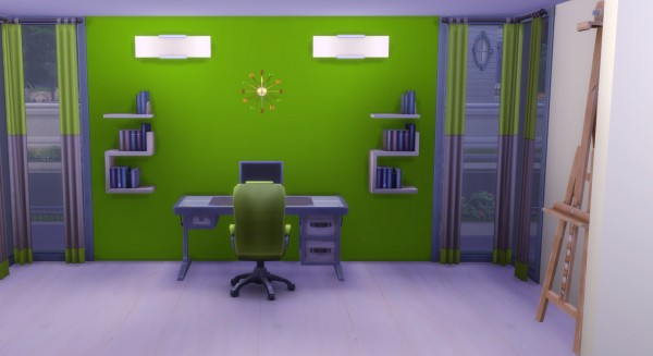 19 Sims 4 Blog: Modern Wall Clock
