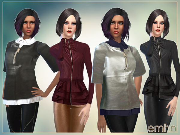 The Sims Resource: Female Outerwear Set by ernhn