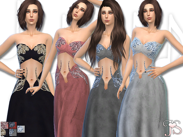 The Sims Resource: Imagination Dress by Java Sims