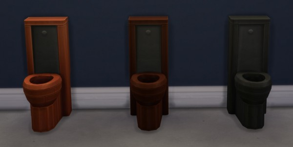 Mod The Sims: Throne of Thrones Toilet by ironleo78