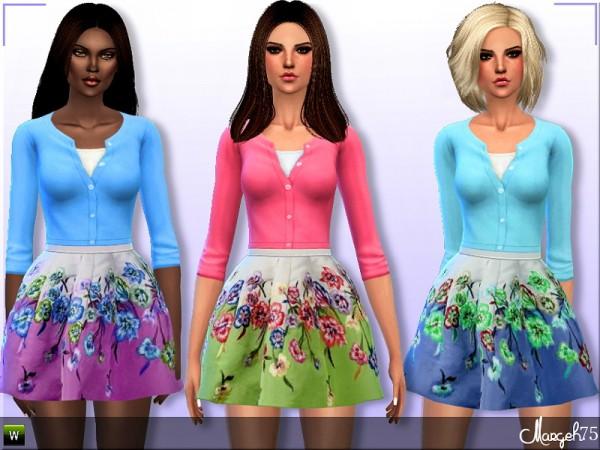 Sims 3 Addictions: Marissa Dress by Margies Sims