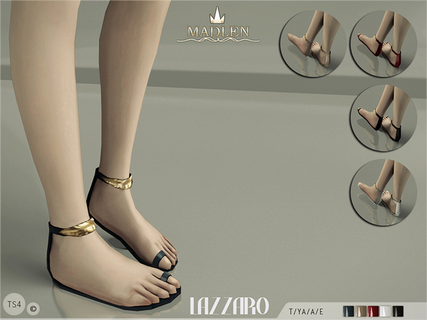 The Sims Resource: Madlen Lazzaro Sandals by MJ95