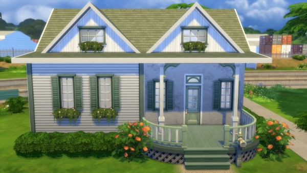 Totally sims spring starter sims 4 downloads for Small starter homes