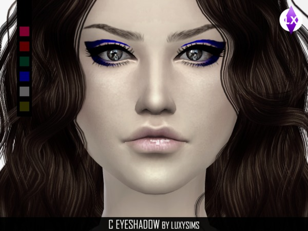 The Sims Resource: Eyeshadow C by LuxySims3