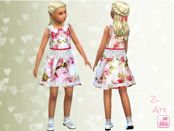 The Sims Resource: Sunday dress by Zuckerschnute20