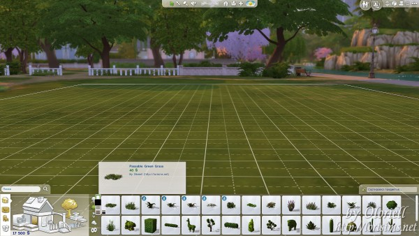 Mod The Sims: Passable Green Grass by Oloriell