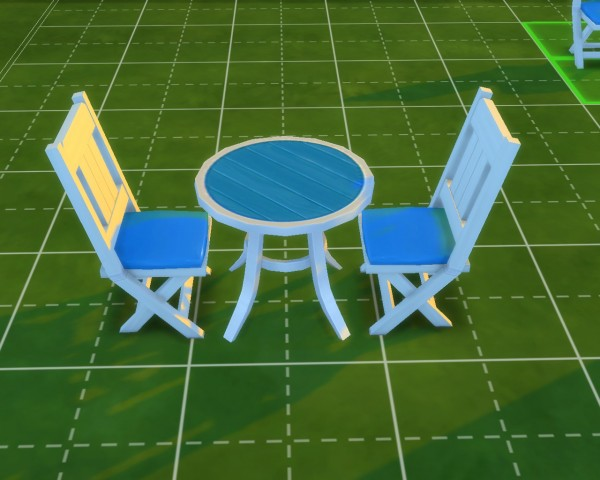 Mod The Sims: Table & Chair by mojo007