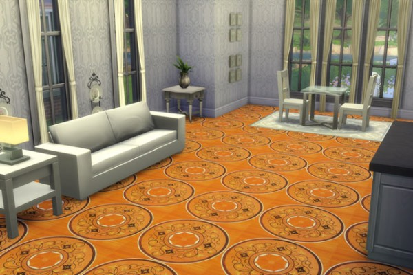 Blackys Sims 4 Zoo: Luxus carpet 7 by blackypanther