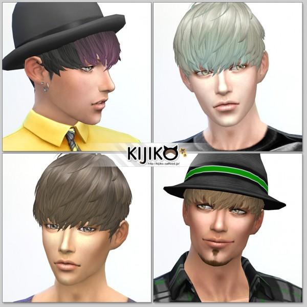 Kijiko Short Hair With Heavy Bangs Sims 4 Downloads