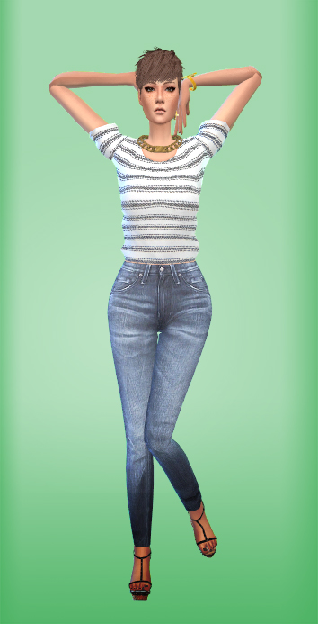 Onelama Fashion Model Pose Pack Sims 4 Downloads