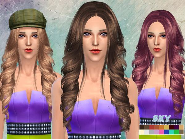 The Sims Resource: Skysims hair 261